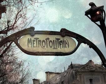Metropolitain 5x5 Print