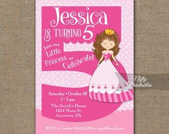 printable girl birthday invitation cards