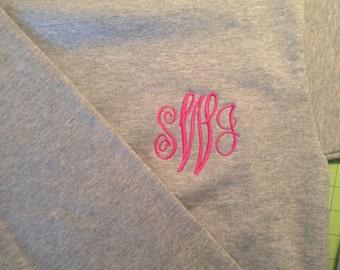Sweatshirt Monogram Crewneck