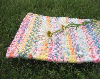 SPRINGVILLE rag weaving TaBLE RuG  Placemat
