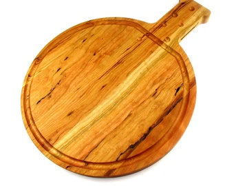 5000ml Roundbottom Boiling Flask Cutting Board - Cherry - Science and Chemistry Gift