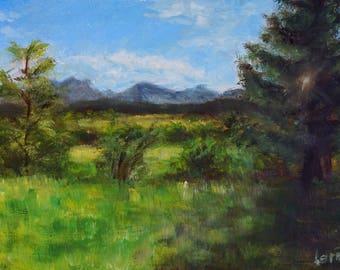 Plein air 4.9.2017   Oil painting