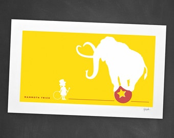Mammoth Trick - Screen Printed Poster