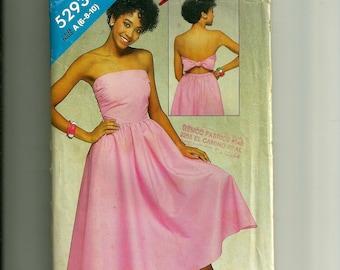 Butterick Misses' Dress Pattern 5293