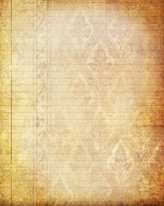 printable journal page victorian vintage lined digital