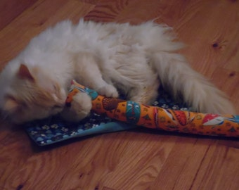 XL Kicker/ Cat Nip Kicker / Cat Toy / Cat Nip Toy / Organic Cat Nip