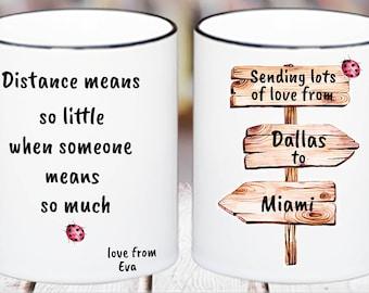 Sending love mug,coffee mug,gift.