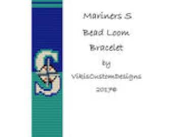 Mariners S Bead Loom Bracelet Pattern by VikisCustomDesigns