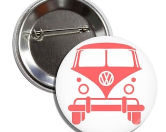 Volkswagen Bus Button