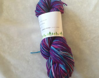 Wood Lake sock yarn