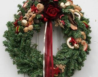 Fri-Collection Artificial Advent wreath 34 cm