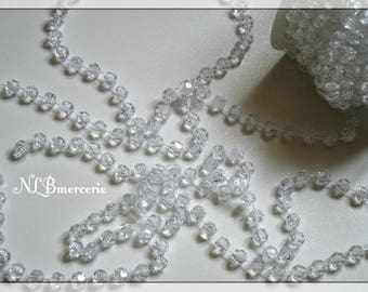 Clear beading wire by the yard