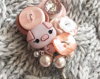 Piggy Pink - Lapel Pin