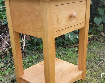 Cherry Bedside Table/Nightstand (free shipping!)