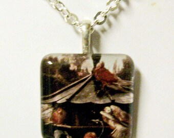 The Dovecoat pendant and chain - BGP01-010