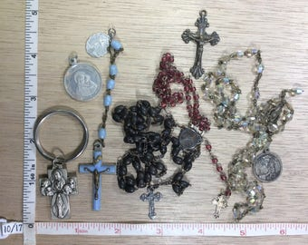 Vintage Steam Punk Revintage Lot Supplies Jewelry Damaged Used