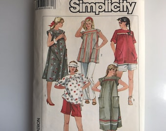 80's maternity dress or breezy summer dress pattern