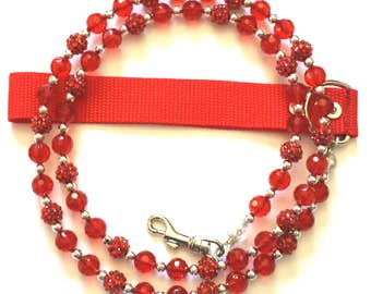 Sparkle Red for pets up to 65 pds.