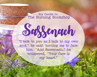 Sassenach | Outlander Inspired Bookish Soy Candle
