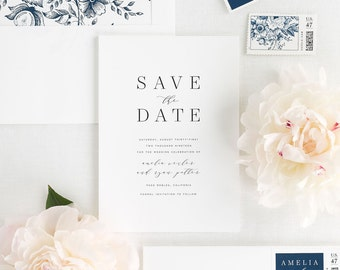 Amelia Save the Date - Deposit