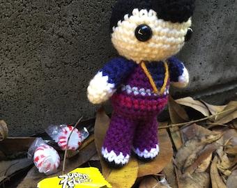 Robbie Rotten Lazy Town crochet amigurumi plush toy doll villain number one
