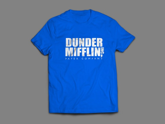 "The Office ""Dunder Mifflin Inc"" Shirt S-4XL and Long Sleeve Available"