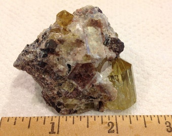 Mineral Specimen - Apatite Crystals from Mexico