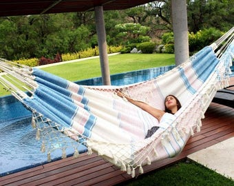 Handmade hammock fresh and comfortable King Size 100% cotton