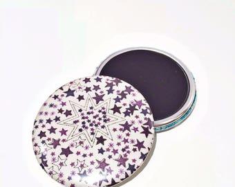 "56mm purple Liberty ""Adbeljada"" magnet"
