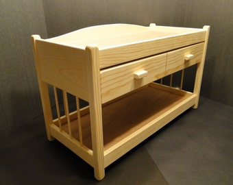 Changing Table For 15 18 Inch Dolls (0142)