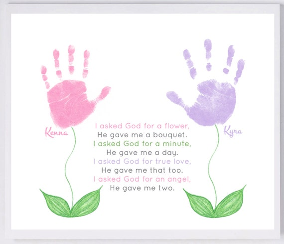 Craft Kit For Handprints And Foot Prints