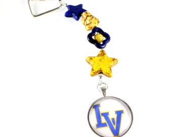 High School Keychains, Public School, Private School, Custom Order, School Colors, Spirit Slogan, School Mascot