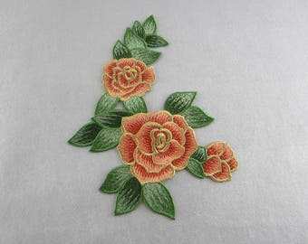 Embroidery Patches Flower Appliques