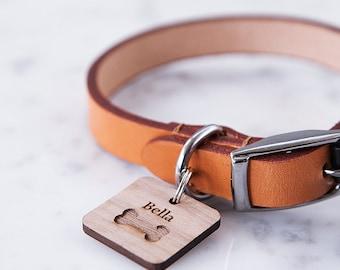 Tag pour animaux de compagnie OS personnalisé - gravée pour animaux de compagnie - accessoires pour animaux de compagnie - Tag ID personnalisé - cadeau pour le propriétaire de l'animal - cadeau pour animaux de compagnie - Dog Tag - Etiquettes chat