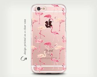 iPhone 7 Case , Galaxy S7 Case , Clear Rubber Case , Galaxy S8 Case , iPhone X Case , iPhone 6 Case , iPhone 8 Plus Case , Flamingo