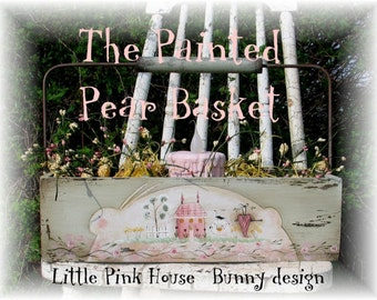 Little Pink House, Terrye French, pattern packet email