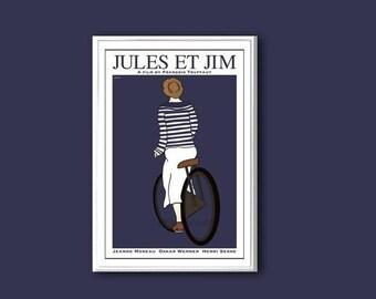 Jules et Jim movie poster in various sizes