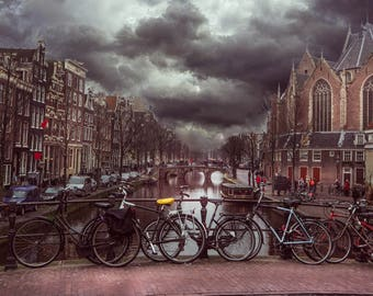 Amsterdam Street and Canal