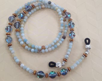 Amazonite Eyeglass Chain