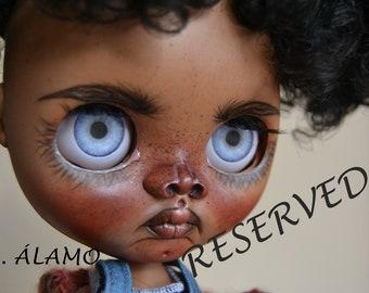 blythe custom, blythe ooak, blythe doll, blythe,