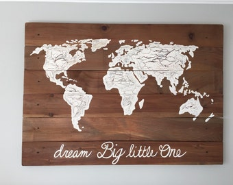 World map plank etsy gumiabroncs Image collections