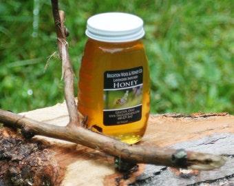 Raw Lavender Infused Wildflower Ohio Honey, 8 oz.