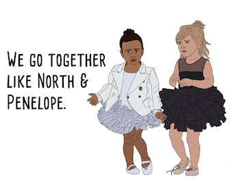 North and Penelope Card