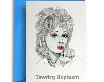 Tawdry Hepburn Card