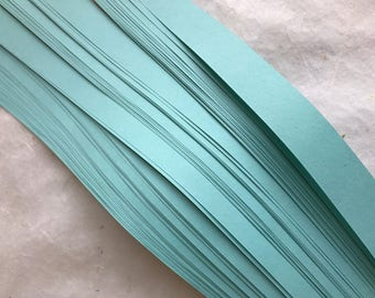 Clearance* Tiffany Blue~ Moravian German Froebel Star Paper (52 strips)