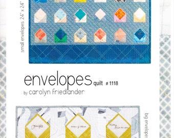Carolyn Friedlander Envelopes Quilt Pattern