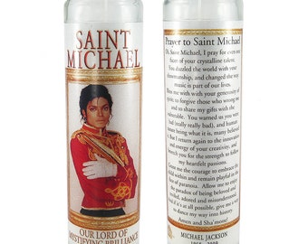 Saint Michael (Jackson) prayer candle