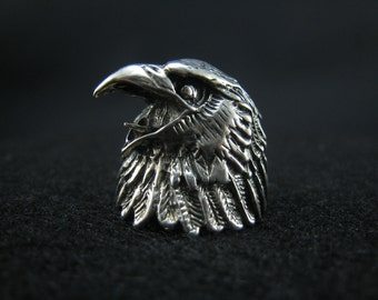 eagle ring,sterling silver