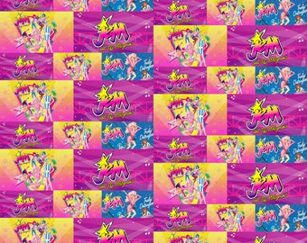 Jem and the holograms fabric