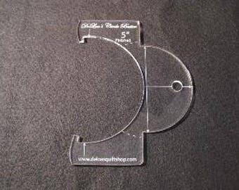Longarm Ruler DeLoa's Circle Buster 5 Inch